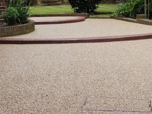 Resin bonded pathways and patios Cambridge